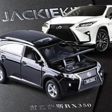 High quality high simulation 1:32 alloy pull back car,Lexus RX350 SUV off-road vehicles,metal model cars toy,free shipping