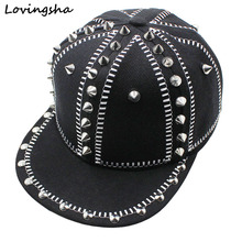 LOVINGSHA Brand Design Girl Baseball Caps 3-8 Years Old Kid Snapback Caps High Quality Adjustable Cap For Boy CC111
