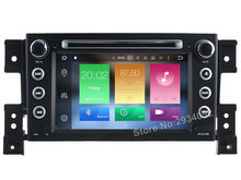 FOR SUZUKI GRAND VITARA 2005-2012 Android 6.0 Car DVD player Octa-Core(8Core) 2G RAM 1080P 32GB ROM gps head device unit stereo