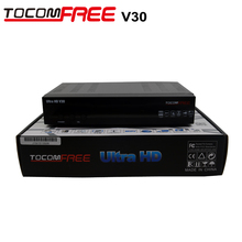 TOCOMFREE Ultra HD1080P v30 FTA Satellite Receiver with diseqc 4*1 + HDMI + WIFI + JB200 For Canada and All North America..
