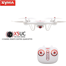 Buy SYMA X5UC 2MP HD Camera RC Quadcopter Drone 2.4G 4CH 6-Axis Gyro RC Helicopter Quadrocopter Height Hold One Key Return for $69.90 in AliExpress store