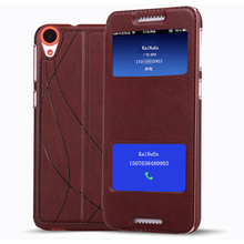 original leather case For HTC Desire 820 case flip luxury 3d leather cover For htc Desire 820g Mobile Phone(China)