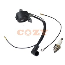 Ignition Coil & Spark plug For Stihl 024 026 028 029 034 036 MS240 MS260 MS290 MS310 MS440 MS640 chainsaw(China)