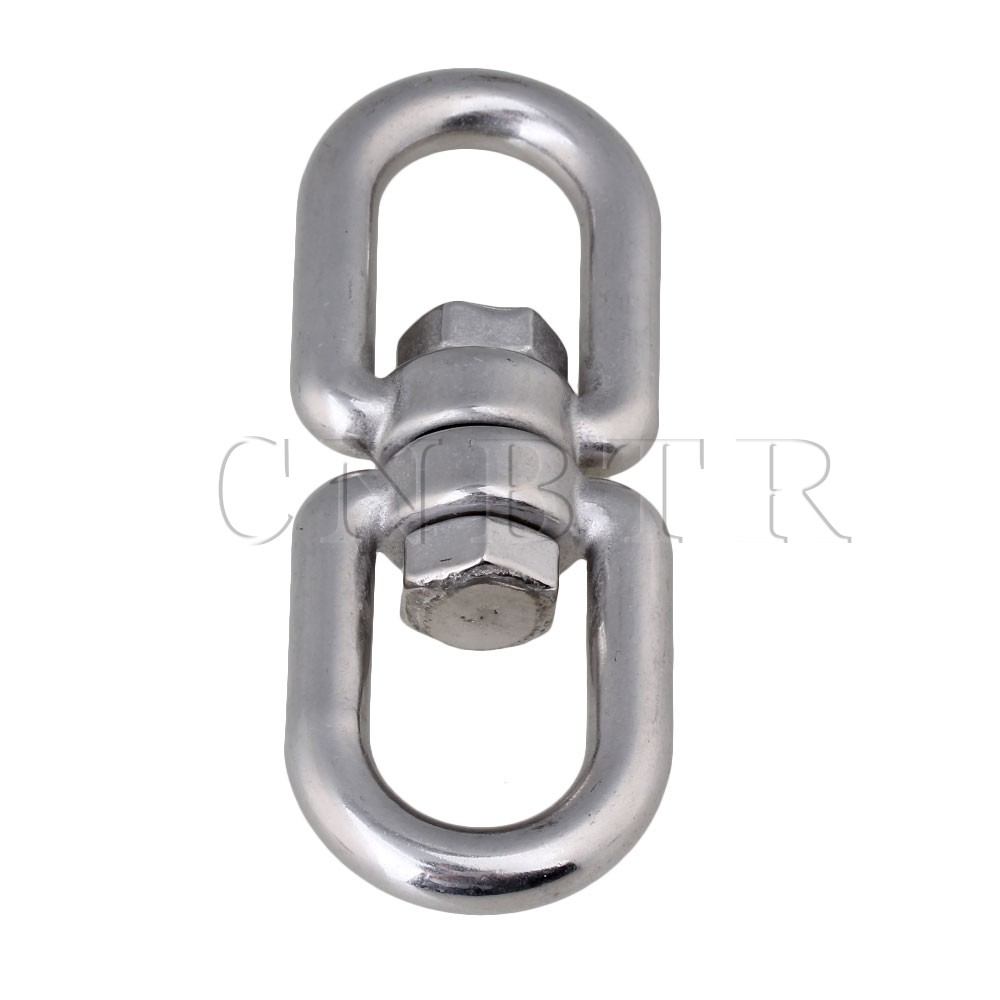 CNBTR Durable M10 10mm Stainless Steel 304 Swivel Dog Chain With Eye to Eye<br><br>Aliexpress