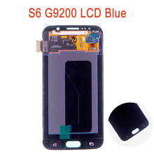 100% Original For Samsung Galaxy S6 G920 G920f G920i G920A G920K LCD Screen Assembly Super AMOLED S6 LCD+Tools