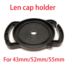 NEW 2015 DSLR Camera Lens Cap Keeper Holder Anti-lost Cover Fits for Lens Cap 43mm/52mm/55mm Universal Accessories Free Shipping