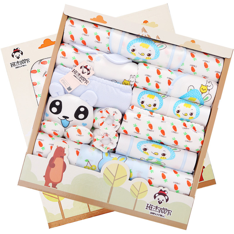 20pcs/set newborn girl clothes long sleeve cotton newborn baby boy clothing gift sets suit winter infant clothing 0-6 months<br><br>Aliexpress