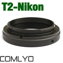New T2 T Mount Ring Lens For NIKON Mount Adapter D7000 D700 D90 D5000 camera work with any for NIKON / FUJI DSLR/SLR Camera Body(China)