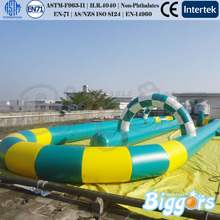 Outdoor Party Customized Size Or Color Inflatable Zorb Ball Go Kart Air Track Inflatable Race Track(China)