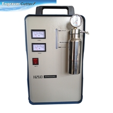 Ving 800W Portable Oxygen Hydrogen Flame Generator Acrylic Polishing Machine, 150L 2 Gas Torches free, 110V