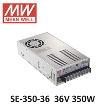 ac dc power source 36V 9.7A 350W Meanwell Switch Power Supply SE-350-36 Industrial Economical medium to high power model 36V