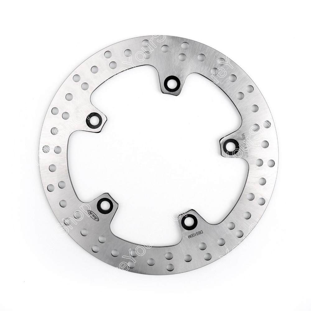 Rear Brake Disc Rotor for BMW F650GS ABS F700GS F800GS F800GT F800R F800S F800ST S1000XR HP2 1200 Megamoto SPORT K1200R K1200S<br>