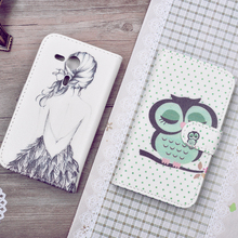 Buy Magnetic Case Sony Xperia SP M35H Flip Cover Sony Xperia SP M35H C5302 C5303 Phone Bags Cartoon Painted Cases PU Leather for $1.99 in AliExpress store