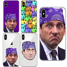 TV Many Faces Michael Scott Hard PC Phone Case Fundas For iPhone 7 7plus 6 6S Plus 5 5S SE 8 8 Plus X Cover(China)