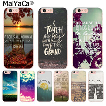 Buy MaiYaCa Lake sunset Bible verse Fashion Fun Dynamic phone case Apple iPhone 8 7 6 6S Plus X 5 5S SE 5C 4 4S Mobile Cover for $1.27 in AliExpress store