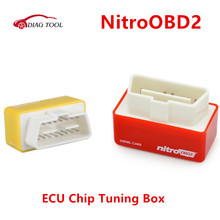 Nitro OBD2 NitroOBD2 Diesel Chip Tuning Interface Nitro OBD2 Plug and Drive More Power / More Torque obd scanner(China)