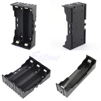 OOTDTY Plastic Battery Case Holder Storage Box For 18650 Rechargeable Battery 3.7V