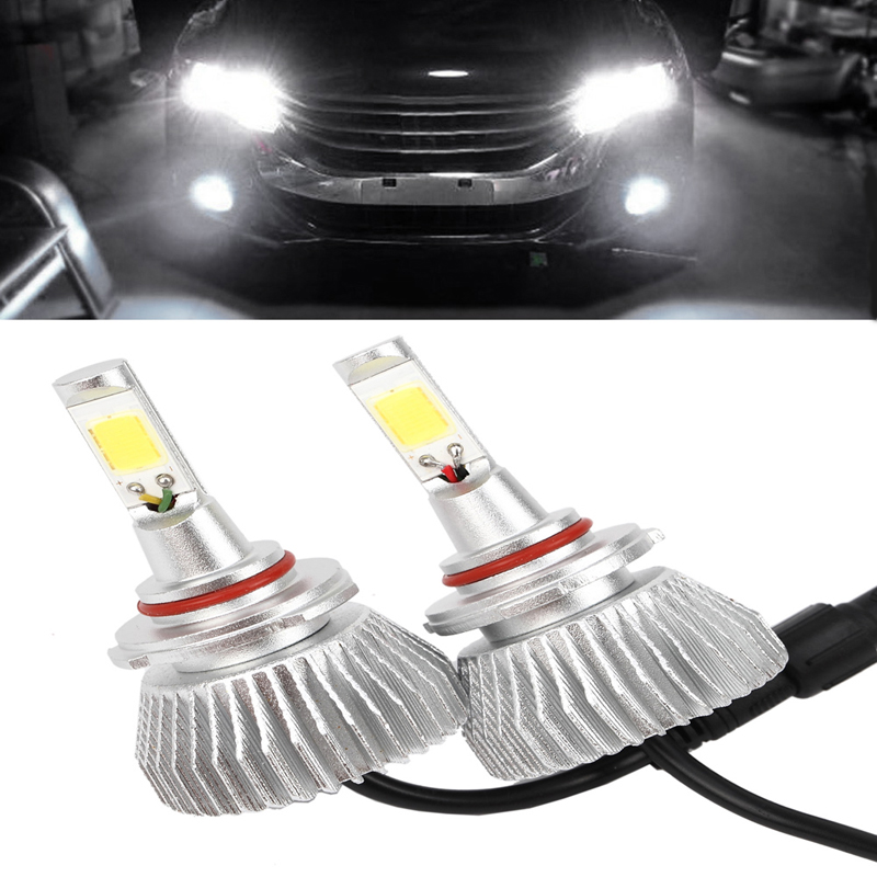 9005 60W 6000LM 6000K LED Headlight DC 12V Car Upgrade Conversion Bulbs Kit New<br><br>Aliexpress