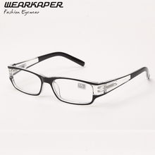 WEARKAPER Spring Hinges Plastic Reading Glasses Oculos de grau+ 1.0 1.5 2.0 2.5 3 3.5 4