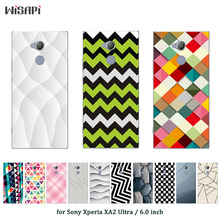 Buy Sony Xperia XA2 Ultra Square Printed Sony XA2 Ultra Cover Sony Xperia XA2 Ultra Silicone Soft TPU DIY Coque for $1.48 in AliExpress store