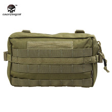 2017 Emerson 1000D Waterproof Drop Utility Pouch Military Waist Molle Pack Weapons Tactics Outdoor Sport Ride EDC Hunting Bag