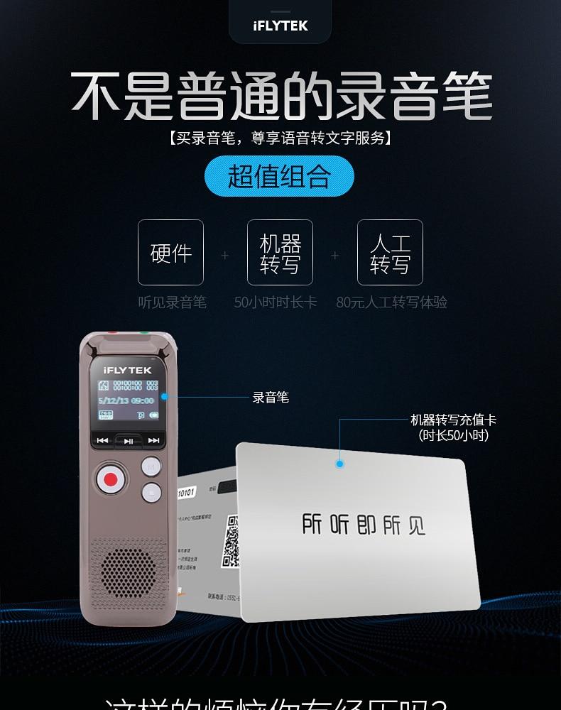 Iflytek Portable Digital Voice Recorder (4)
