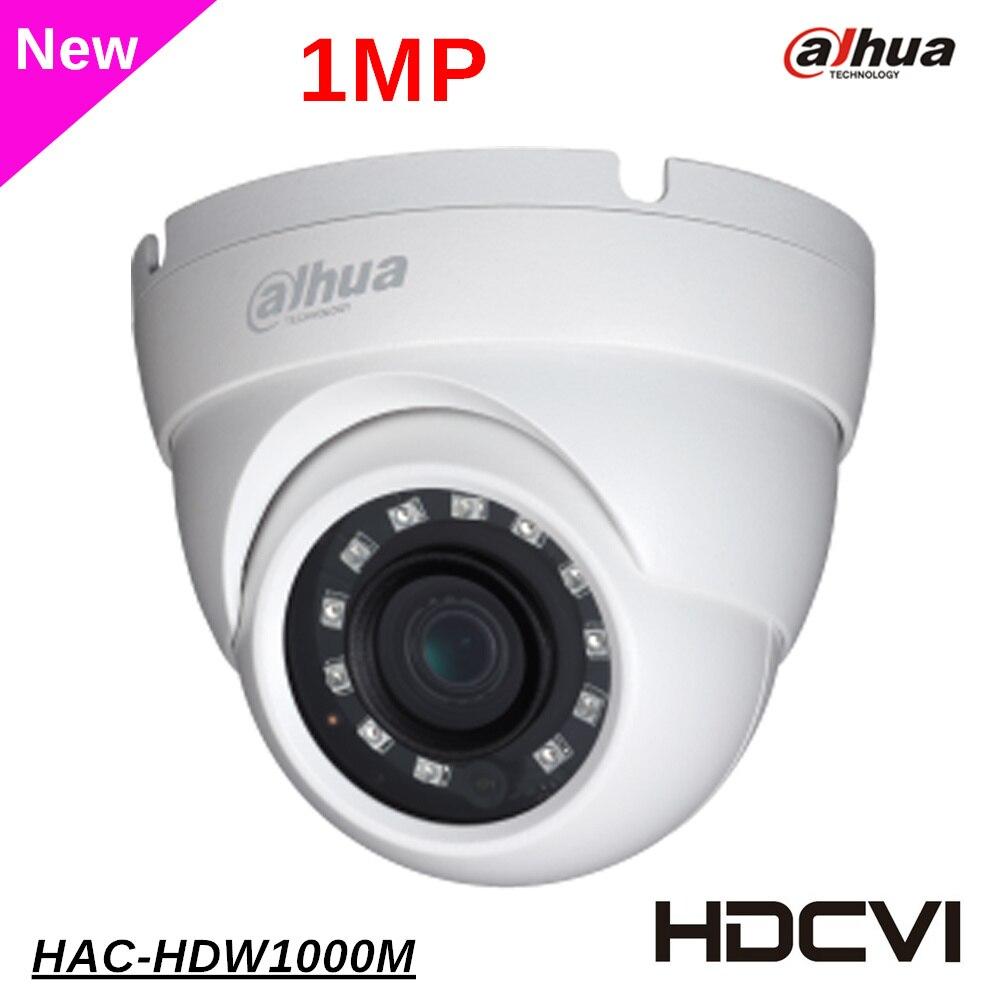 Dahua 1 Megapixel HDCVI DOME Camera CMOS 720P IR 30M in/outdoor HAC-HDW1000M dahua cctv security camera dahua Coaxial Camera <br>