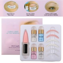 Mini Eyelash Perm Lotion Full Set Super Wave Lash Perming Curler Rod Glue Kit Eyelashes Waved Liquid Semi Permanent Makep Tool