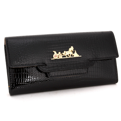 Fashion Ladies Genuine Leather Purse Womens Wallets Cowhide 4 Colors Long Design Womens wallets And Purses carteira feminina<br>