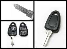 REPLACEMENT Transponder Key Shell Case Fob +Uncut Blank Blade GT10 for Fiat IVECO DUCATO(China)