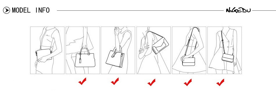 NIGEDU Leather Casual Tassel Handbag Large Famous Brands Designers Pu Leather Handbags Women Big Tote Bags Female Messenger Bags Bolsos Blue (15)