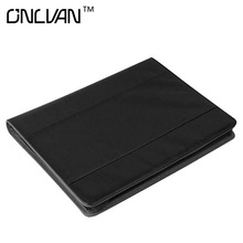 Black Color PU Leather Document Holders Manager Folder New Design Padfolio Office Accessories Organizer Support Customized