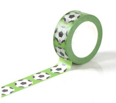 AB151-15mm*10m green ball diy decorative washi adhesive tape(50pieces or 100pieces)<br>