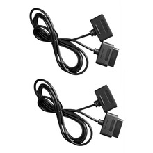 New 2pcs 6ft Extension Cable Cords for SNES Super for Nintendo 16 Bit Game Controller Cable