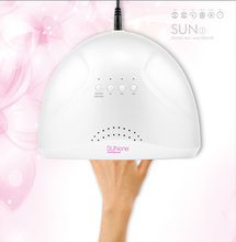 SUN ONE Professional White Light 48W UVLED Lamp Nail Dryer Curing Gel LED Gel Nail Polish Nail Art Tool(China)