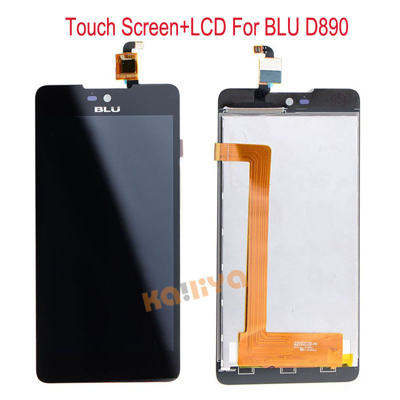 High Quality New LCD Display For BLU D890 LCD with Touch Screen Digitizer Assembly Replacement For Blu D890 Phone+Tracking NO. <br><br>Aliexpress
