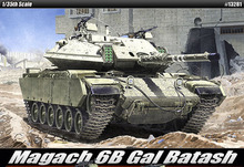 ACADEMY 13281 1/35 Scale Magach 6B Gal Batash Plastic Model Building Kit