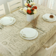 2016 Hot Sale Europe Words Lace Table Cloth Europen Table Decoration Banquet Wedding Party Cheap Table Cover