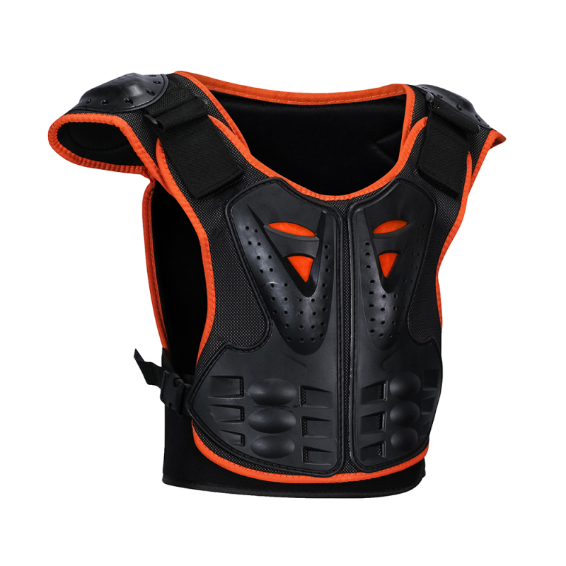 Armor Jacket Spine-Chest-Protection-Equipment Motorcycle-Gear Motos Children's Skateboard title=