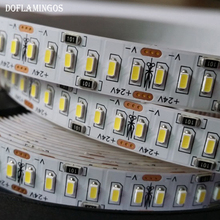 5M 1200LEDS 24V 3014 SMD LED Strip 12-14LM 240LED/M Gold Line LED Ribbon LED Tape Light Cool White Warm White Natural White(China)