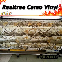 High Quality Realtree Camouflage Wraps MATTE / GLOSSY Finish Vehicle Body Wrapping Film Sticker Air Free Bubble