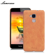 2017 Rushed Promotion Lamocase For Huawei Honor 5c Cover For 7 Lite / Gt3 Protective Back High Quality Luxury 3 Colors