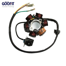 GOOFIT 6-Coil Magneto Stator Ignition Generator for GY6 50cc 70cc 90cc 110cc 125cc Moped ATV Dirt Bike K079-003(China)