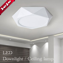 Surface Mounted LED Ceiling light Panel lamp 18W 24W AC110V-240V for Kitchen/Foyer/Balcony/Corridor/Bathroom/Restaurant(China)