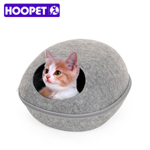 Creative Bed Pets Cat Sleeping House Bed Felt Warm Material Egg Cave Bed for Cat 3 Colors
