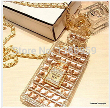 Free shipping Unique Charming Bling Luxury diamond Lady perfume handbag cover case for iphone 7 5 5s 5c SE 6 6S plus 6Splus