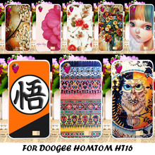 Soft Silicone Mobile Phone Case For Doogee Homtom HT16 Top Selling Painting Cover Durable Protective Shell Back Bags Case Cover