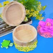 1Pcs Jewelry Box Wooden Crafts Wood Mud Base Art Decor Children DIY Toys(China)