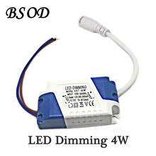 BSOD LED Dimming Driver 4W Transformer Power Supply Input Voltage AC110V Output Voltage DC 12V 280-300ma for Panel Light