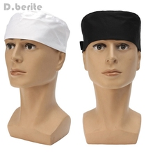 Professional Working Chefs Mesh Top Skull Cap Checkedout Chef High Quality Hat Kitchen Restaurant Cook Catering DAJ9228(China)